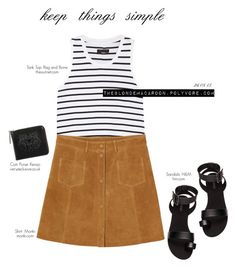 """""""26.08.15"""" by theblondemacaroon ❤ liked on Polyvore featuring rag & bone, Monki, H&M and Kenzo"""