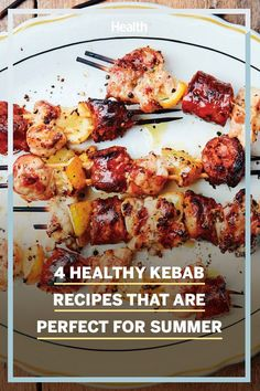 Perfect for this time of year, these kebab recipes from Mark Bittman's new book, How to Grill Everything, are easy and satisfying. #dinnerideas #kebabrecipes #grillingrecipes