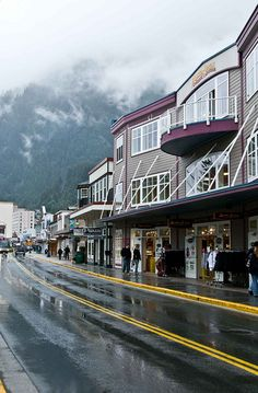 Juneau, Alaska, this is where my daughter and family are moving to.  I'll be out to visit soon.