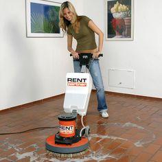 Čisticí / lešticí stroj na podlahy 450 mm nájemné u OBI stavebniny - OBI. Obi, Home Appliances, Grinding Machine, Electrical Tools, Renting, Cleaning, House Appliances, Appliances