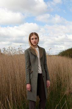 Katherine Hooker - Clifford Coat.
