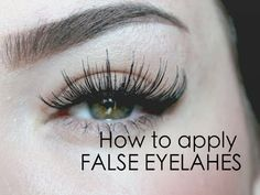 *I FORGOT TO MENTION I DO APPLY A THIN COAT OF MASCARA, LET IT DRY Another tip if your lashes don't have a natural curl to them, curl them before applying th...