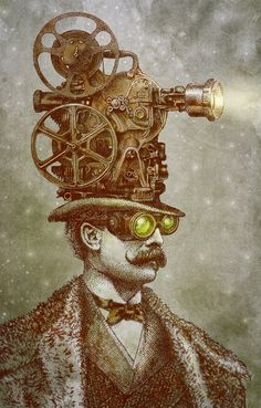 Featured Artist: Eric Fan on Surreal Steampunk and Self-Promotion Chat Steampunk, Steampunk Drawing, Steampunk Kunst, Steampunk Artwork, Wassily Kandinsky, Fantasy Images, Fantasy Art, Arte Yin Yang, Steampunk Illustration