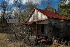 Oconee GA Washington County Curry's Store Photograph Copyright Brian Brown Vanishing South Georgia USA 2013