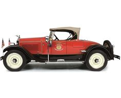1926 Packard 226 Roadster Two-Seater Fire Chief