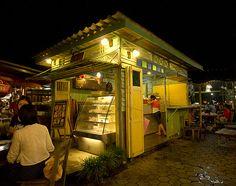 賣優格冰沙的小店@清邁 by imDannny, via Flickr
