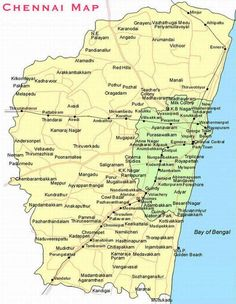 72 Best Chennai City Plan images