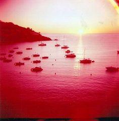 Boats & Sunset