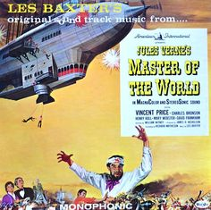 """""""Master Of The World"""" (1961, VeeJay).  Music from the movie soundtrack."""