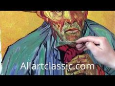 ▶ How to paint Like Van Gogh - Impasto Painting Technique - YouTube