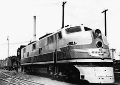 "One half of Milwaukee's ""Famous One Half, Milwaukee Road, St P, The Golden Years, Locomotive, Division, Trains, Scene, Magazine"