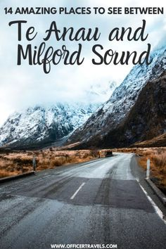Drive from Te Anau to Milford Sound and discover everything the Fiordland has to offer! From hidden hikes, alpine lakes and glacier capped mountains – this road trip has a bit of everything! | #NewZealand #SouthIsland #Roadtrip #TravelNZ | Things to see on the way to Milford Sound, Milford Sound from Te Anau, New Zealand South Island Itinerary, Things to see on the South Island New Zealand Itinerary, New Zealand Travel Guide, Beautiful Places To Visit, Cool Places To Visit, Te Anau, Visit New Zealand, New Zealand South Island, Travel Guides, Travel Tips