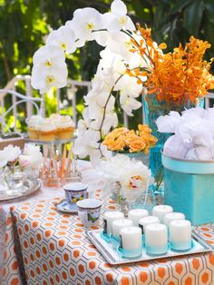 outdoor graduation party decorating ideas | Outdoor Party Decorating Ideas : Recipes and Cooking : Food Network