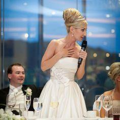Bride wedding speech ideas and outline.