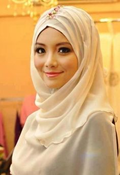 Creamy hijab - Summertime