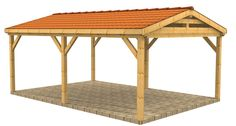 High quality timber buildings, wooden carports, shelters, fences, gazebos and garages Carport Plans, Carport Garage, Pergola Carport, Shed Plans, Carport Kits, Detached Garage, Pergola Kits, Pergola Ideas, House Plans