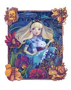 """""""Alice in the Garden"""" by Siames Escalante"""