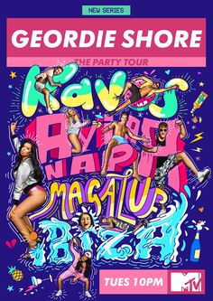 "Check out this @Behance project: ""Geordie Shore: The Party Tour"" https://www.behance.net/gallery/46068533/Geordie-Shore-The-Party-Tour"