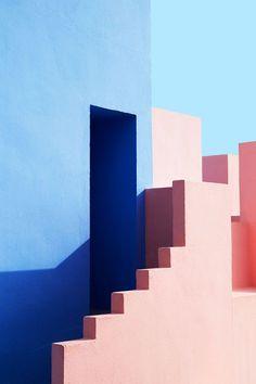 La Muralla Roja by Ricardo Bofill Architects: Architecture, geometry and shadows Colour Architecture, Interior Architecture, Minimalist Architecture, Interior Design, Amazing Architecture, Shadow Architecture, Geometry Architecture, Architecture Panel, Architecture Portfolio