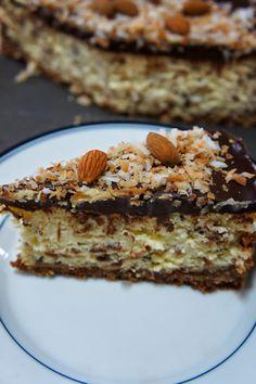 Almond Joy Cheesecake: Savory Sweet and Satisfying