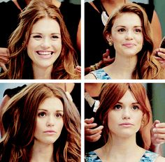 I still have to remind myself to brush my hair and look socially acceptable - Holland Roden