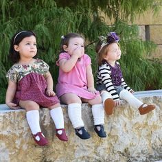 Love these little ladies  & their little personality to the max  T-straps are on sale  Grab then before they are gone. I'll adding more but not in the same colors  . . #maryjanes#babyshoes#ballerinas#shoes