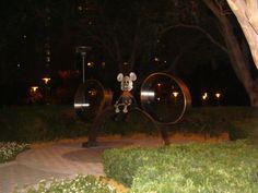 Cute Mickey sculpture