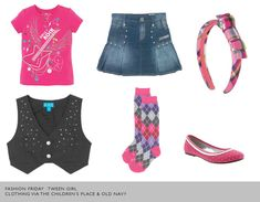 Back to School fashion for the tween! #BTS #Tweens