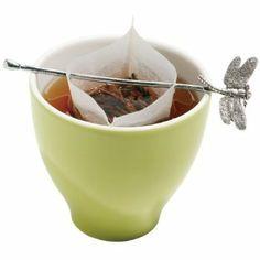 Tea twig for loose leaf teas in tea bags! so cute