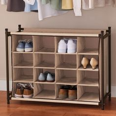 Actually, this is the type of rack I'm lookin for for my shoes. I'd also need one for my purses.