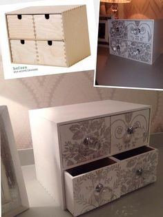 ikea decoupage sch nes design diy pinterest ikea designs und m bel. Black Bedroom Furniture Sets. Home Design Ideas