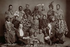 '© Michael Graham-Stewart, 'The African Native Choir' Singers from Cape Colony, South Africa, came to UK to raise money. Cape Colony, African Diaspora, African History, Choir, Black History, Christianity, Culture, Portrait, South Africa