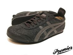 Grey Onitsuka Tigers