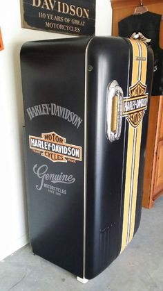 Harley Davidson fridge. More #harleydavidsonmotorcycles