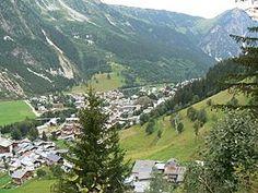 A general view of Pralognan-la-Vanoise