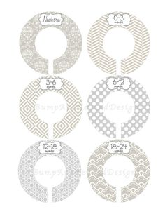 Closet dividers these make so much more sense than for Clothes divider template