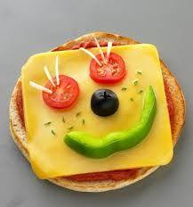 alimentação infantil criativa -