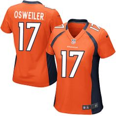 Brock Osweiler Game Jersey-80%OFF Nike Brock Osweiler Game Jersey at Broncos Shop. (Game Nike Women's Brock Osweiler Orange Jersey) Denver Broncos Home #17 NFL Easy Returns.