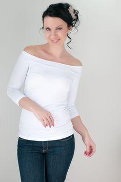 Li-La tričko Něžné ... One Shoulder, Blouse, Tops, Women, Fashion, Blouse Band, Moda, Women's, La Mode