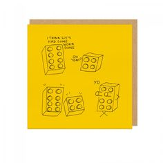 Had Some Work Done Square Greeting Card | Ohh Deer