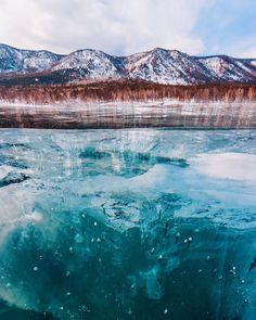 Lago Baikal congelado 9