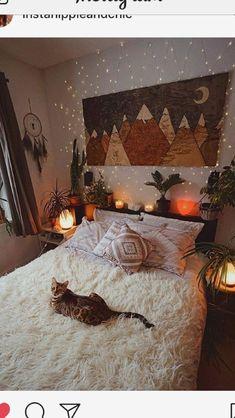 Bohemian Bedroom 680113981212532176 - 75 Modern Bohemian Bedroom Decor Ideas, Source by Bohemian Bedroom Decor, Decor Room, Home Decor, Fall Bedroom Decor, Modern Bohemian Bedrooms, Modern Bedroom, White Rustic Bedroom, Bohemian Dorm, Whimsical Bedroom