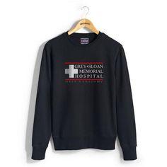 Grey Sloan Memorial Hospital Unisex Crewneck Sweatshirt - Meh. Geek