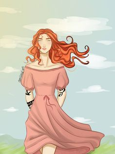 Clary! From The Shadowhunters Chronicles by
