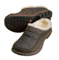 Orvis Sheepskin Slippers for Men - Waxed-Cotton Barefoot Slipper -- Orvis on Orvis.com!