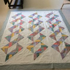 #30 of 2017 made by Sharon Theriault. Pattern is Triple Twist from QIAD