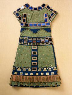 Blue Années 1920 Charleston danse montre//stagewear Fancy Dress Costume Tous Âges