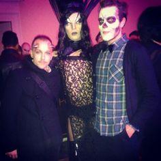 #party #night #photo #horror #face