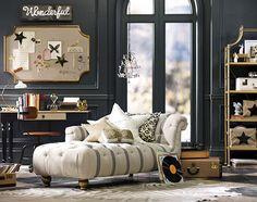 Lounge Room Decorating Ideas | Nautical Theme | PBteen