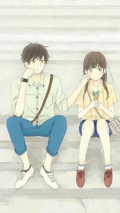 Safebooru is a anime and manga picture search engine, images are being updated hourly. Anime Sweet Couple, Couple Manga, Cute Couple Cartoon, Cute Love Cartoons, Couple Art, Cute Couple Drawings, Anime Couples Drawings, Anime Couples Manga, Anime Guys